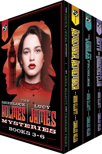 The Sherlock Holmes and Lucy James Mystery Series Box Set: Books 3-6